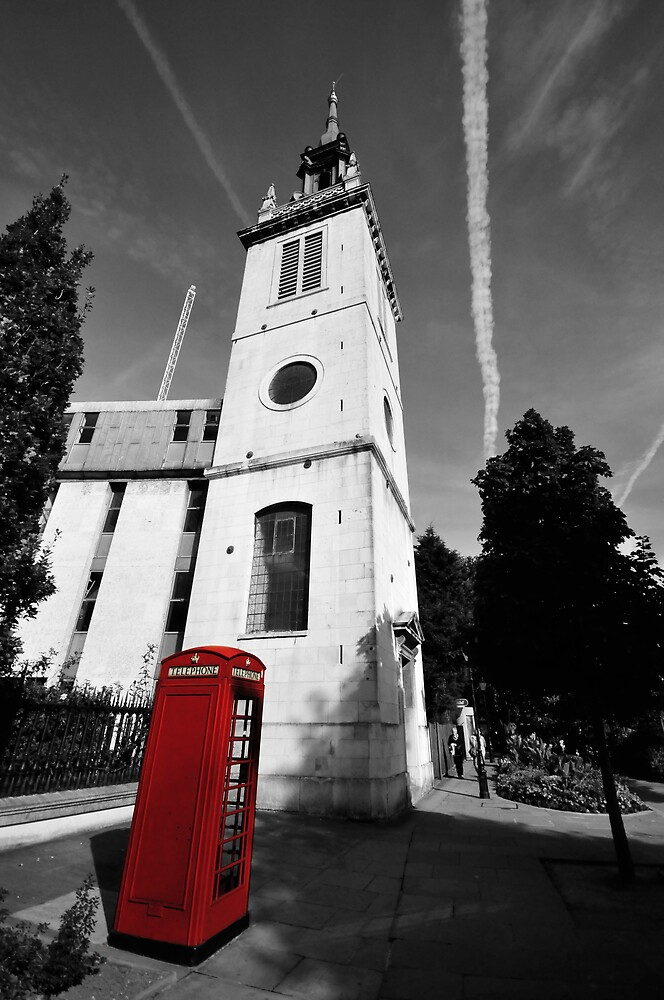 London Phonebox by NrthLondonBoy