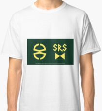 Doctor Who: Robot - the Scientific Reform Society logo Classic T-Shirt