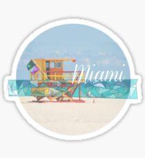 Miami water  Sticker