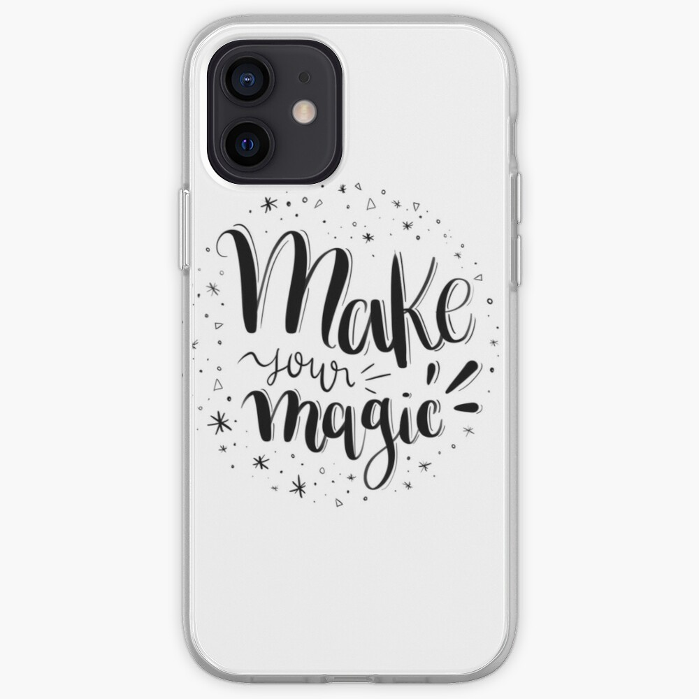 Make your magic - Hand lettering iPhone Case & Cover