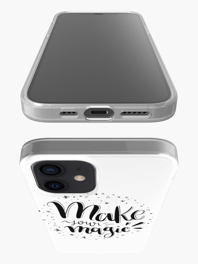 Alternate view of Make your magic - Hand lettering iPhone Case & Cover