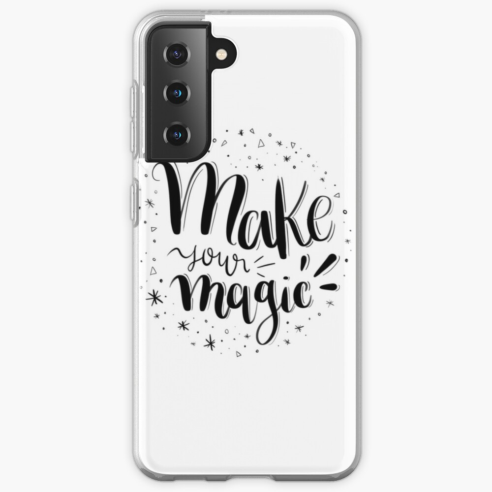 Make your magic - Hand lettering Case & Skin for Samsung Galaxy