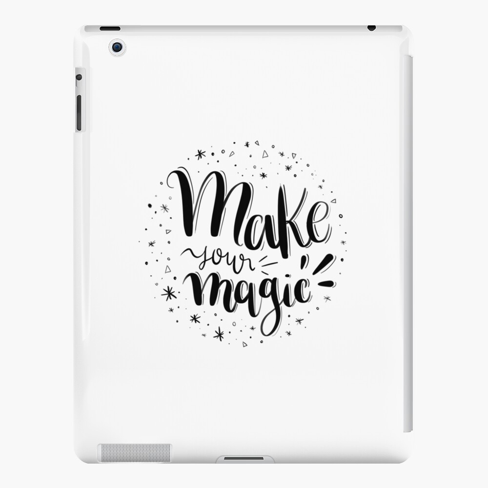Make your magic - Hand lettering iPad Case & Skin