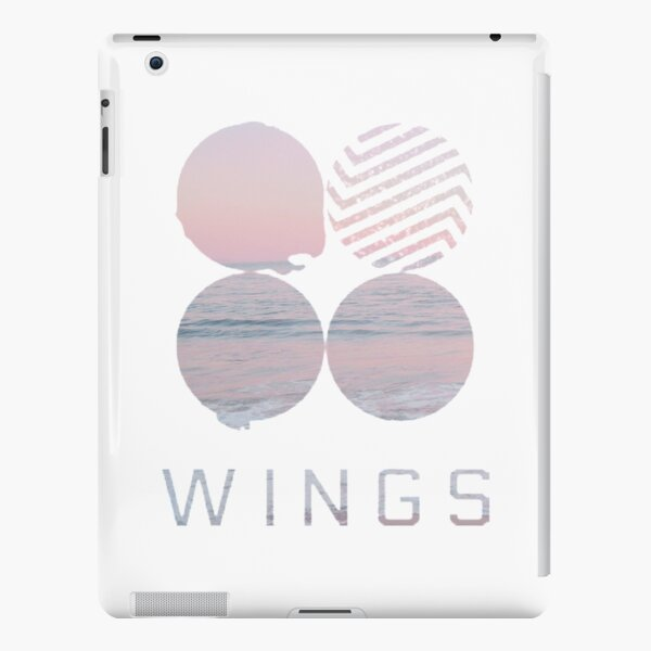 BTS wings logo iPad Snap Case