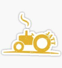 Jatt Farmer Sticker