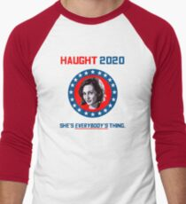 Haught 2020 - She's Everybody's Thing Men's Baseball ¾ T-Shirt
