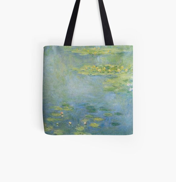 Claude Monet - Waterlilies  All Over Print Tote Bag