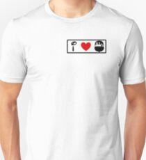 I Heart Haunted Mansion (Classic Logo) T-Shirt