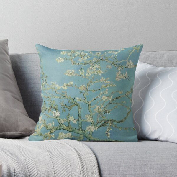 Vincent van Gogh - Almond blossom Throw Pillow