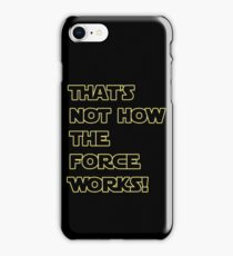 Han Solo Quote iPhone Case/Skin