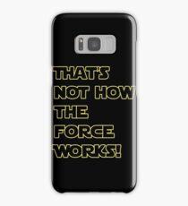 Han Solo Quote Samsung Galaxy Case/Skin