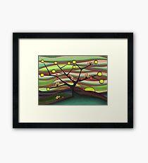 Hedgehog fruit tree  Framed Print