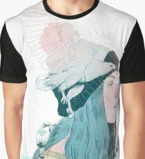 MAR Y AIRE by elenagarnu Camiseta gráfica