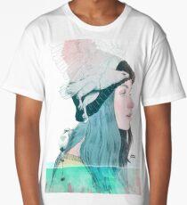 SEA AND AIR by elenagarnu Long T-Shirt