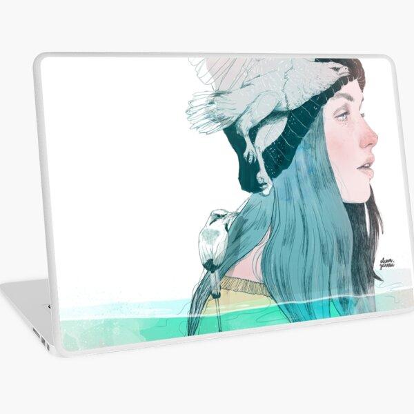 SEA AND AIR by elenagarnu Laptop Skin