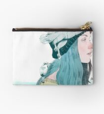 SEA AND AIR by elenagarnu Studio Pouch