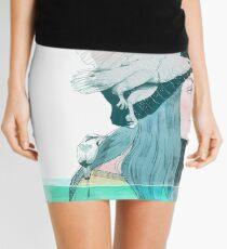 MAR Y AIRE by elenagarnu Minifalda