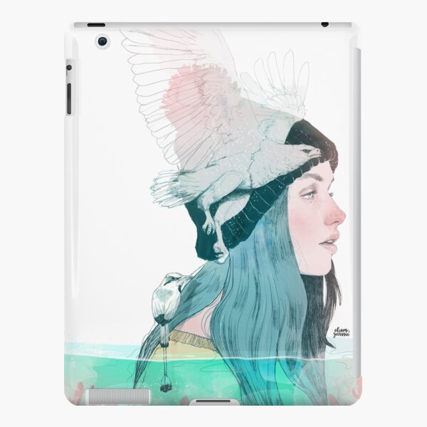 SEA AND AIR by elenagarnu iPad Snap Case