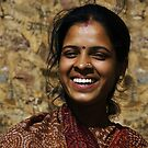 An Indian smile - India by Christophe Dur