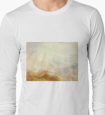 A Mountain Scene, Val d'Aosta by J. M. W. Turner Long Sleeve T-Shirt