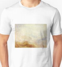 A Mountain Scene, Val d'Aosta by J. M. W. Turner T-Shirt