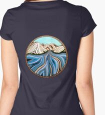 Glacial River Women's Fitted Scoop T-Shirt