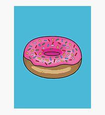 Sprinkle Donut Photographic Print