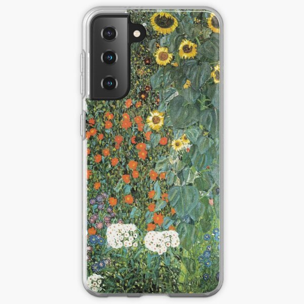 Bauerngarten mit Sonnenblumen Coque souple Samsung Galaxy