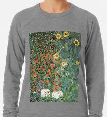 Gustav Klimt - The Sunflower Lightweight Sweatshirt