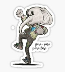 Paradise - Coldplay Sticker