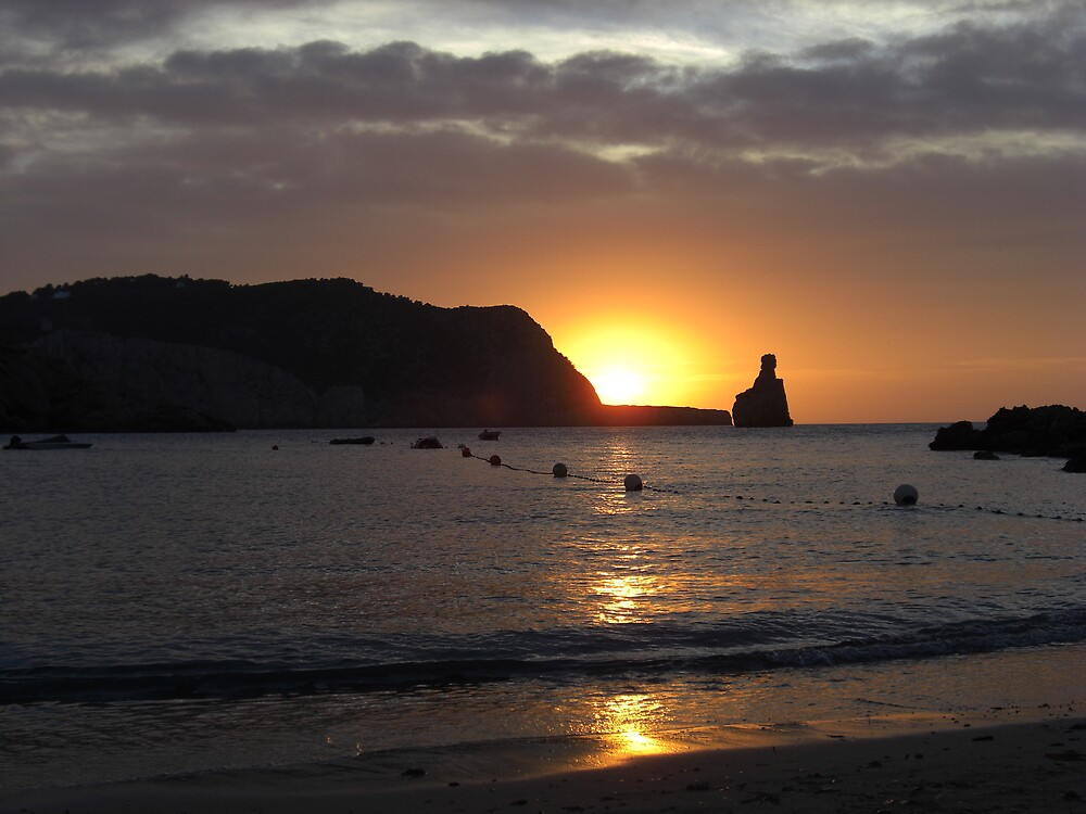 Cala Basa Sunset 2 by Lee Everall