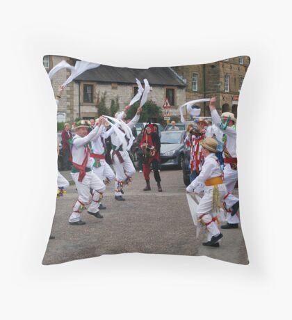 Morris Men Throw Pillow