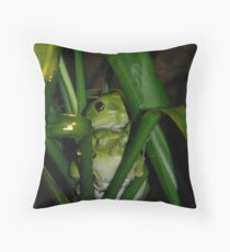 froggie 1 Throw Pillow