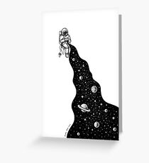 Universe is Knit Greeting Card