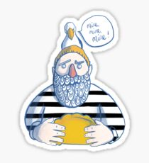 Sailor and The Gull Sticker