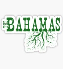 Bahamas Roots Sticker