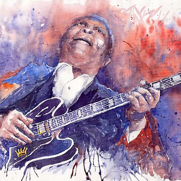 Jazz B B King 05 Red by shevchukart