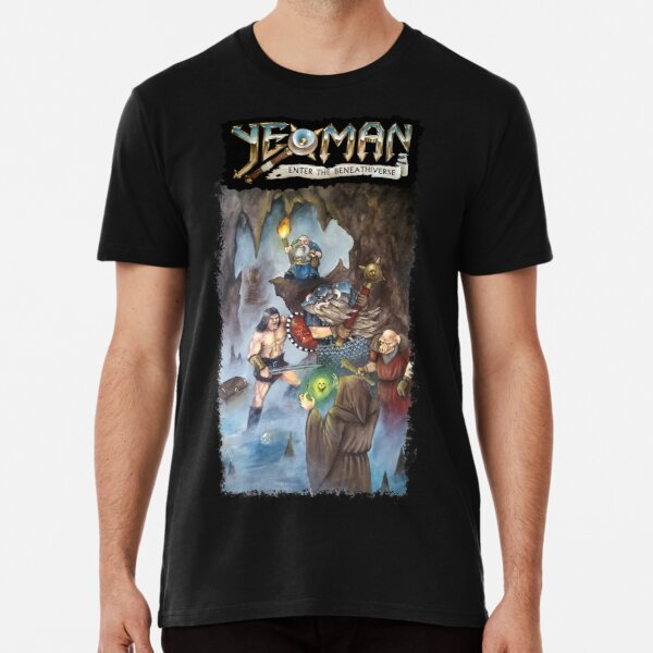 Yeoman - Enter the Beneathiverse Premium T-Shirt