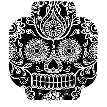 """Lego-Calavera"" Black&White Version by 0990dav"