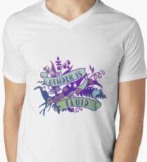 Gender Is Fluid V-Neck T-Shirt