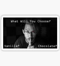 Markiplier Markiplier Edit  What will you choose?  Sticker