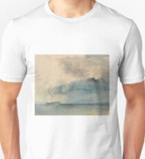 A Paddle-steamer in a Storm by J.M.W. Turner Unisex T-Shirt