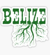 Belize Roots Sticker
