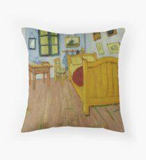 Van Gogh - Bedroom in Arles Throw Pillow