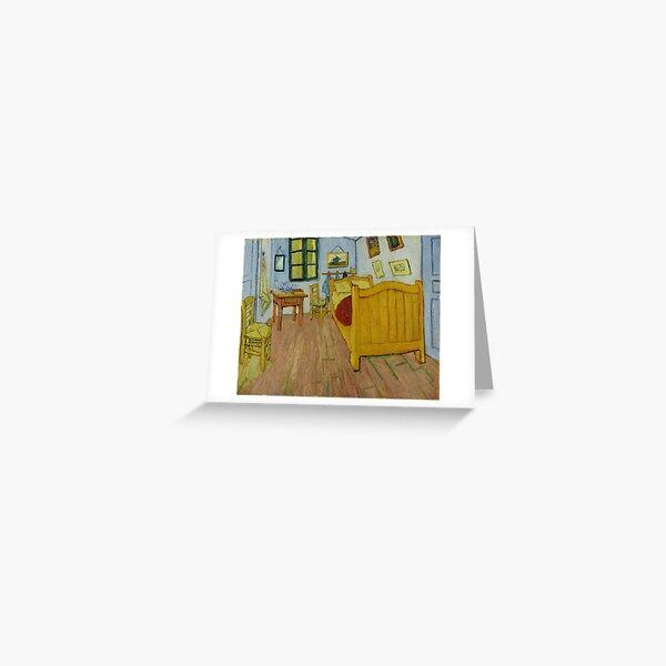 Van Gogh - Bedroom in Arles Greeting Card