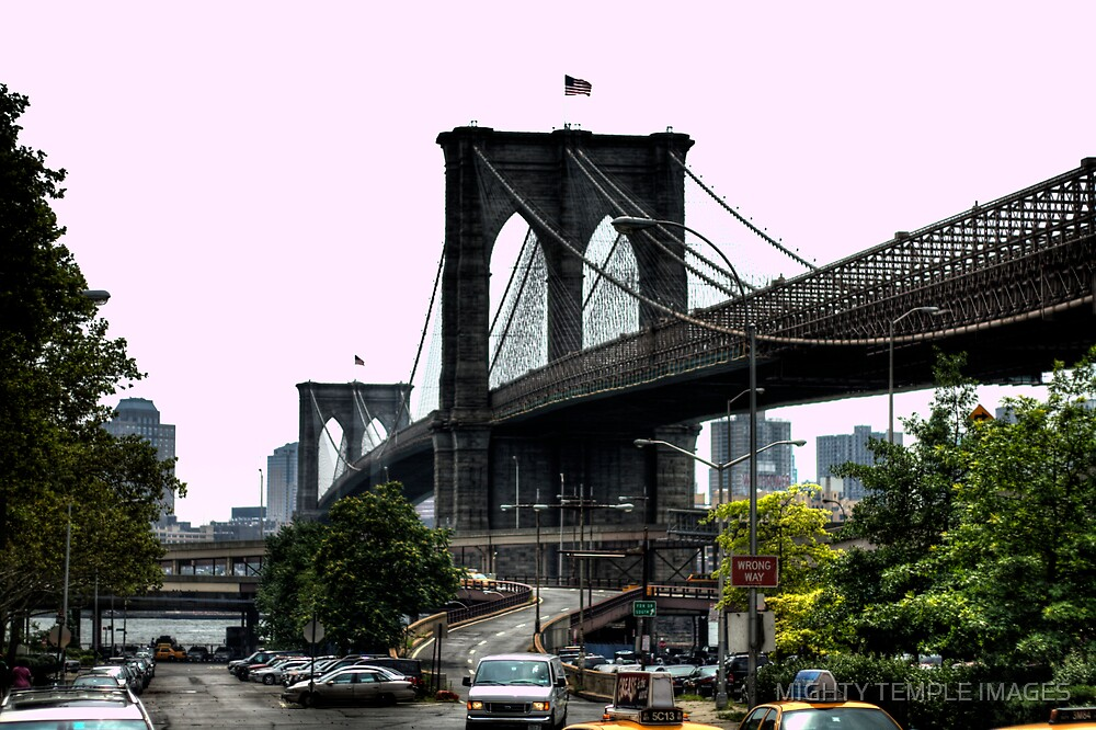 Brooklyn Bridge by MIGHTY TEMPLE IMAGES
