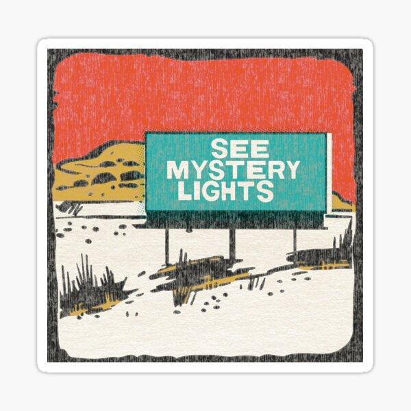See Mystery Lights Sticker
