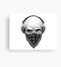 Gangsta Skull Canvas Print