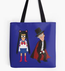 Tina Moon and Buttexdo Mask Tote Bag