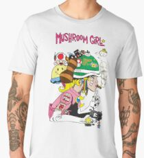 Mushroom Girl Men's Premium T-Shirt
